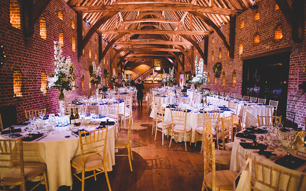 barn wedding venue, UK
