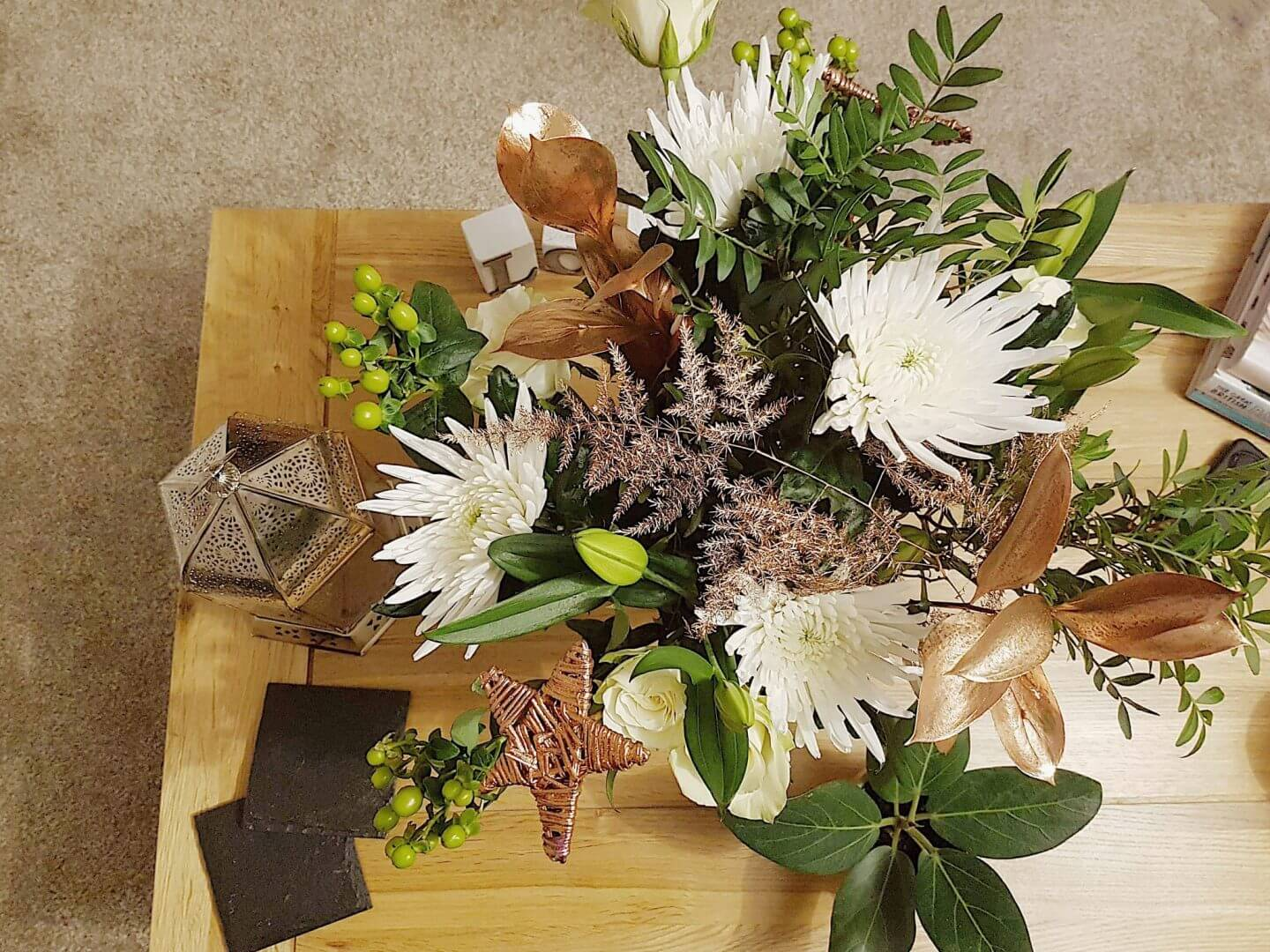 Product Review: Christmas Flowers by Prestige