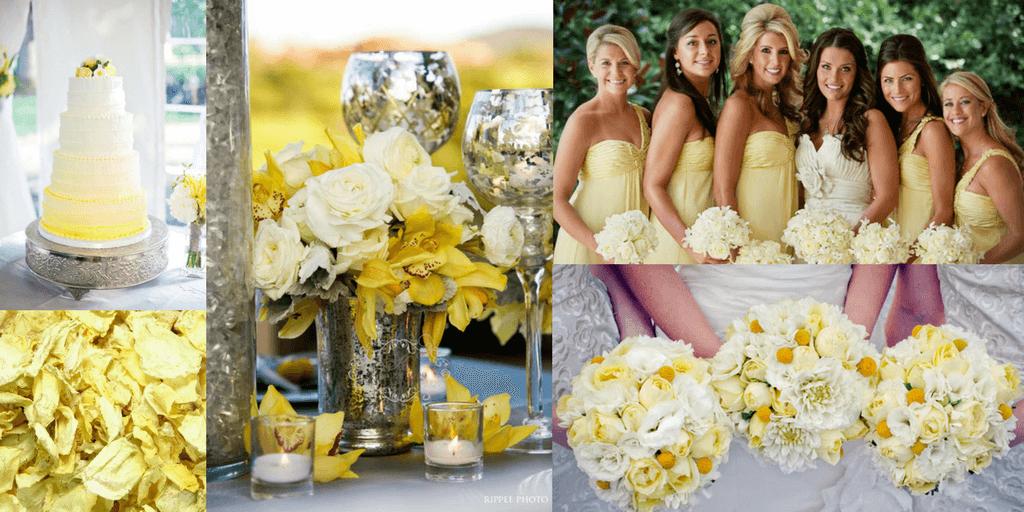 Grey and Yellow Wedding Inspiration