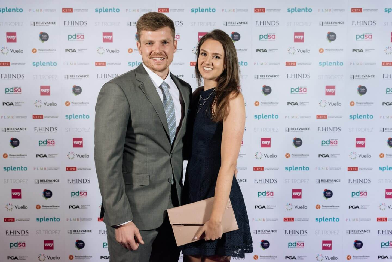 Sarah and Jay at the Vuelio Blog Awards 2018