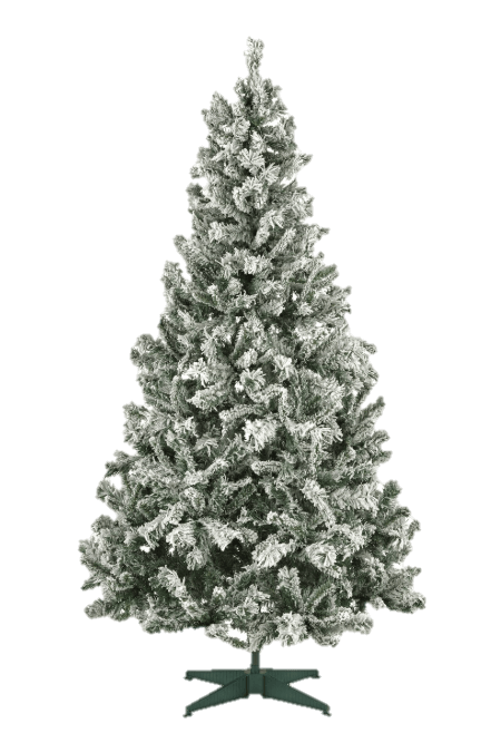 Argos christmas tree with snow on it for £40